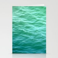 Teal Sea Stationery Cards