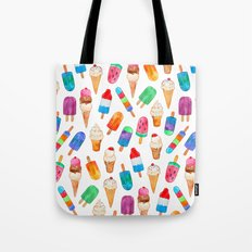 Summer Pops and Ice Cream Dreams Tote Bag