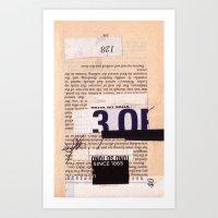 BOOKMARKS SERIES Pg 334 Art Print