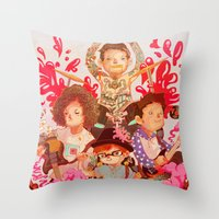 Where Did the Long Titles Go Throw Pillow