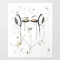 Out Of It Art Print