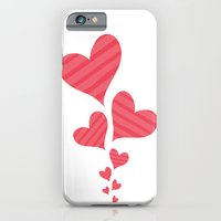 iPhone & iPod Case featuring Hearts by Art Tree Designs