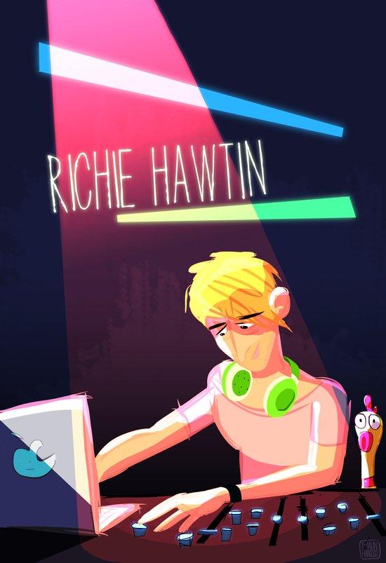 Richie Hawtin Art Print