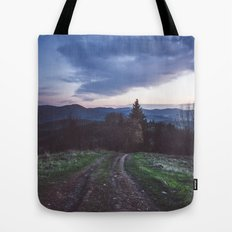 Go where you feel the most alive Tote Bag