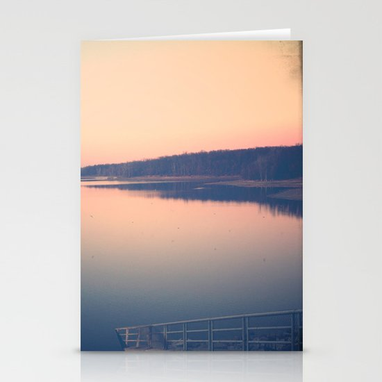 Morning Comes Softly Stationery Card
