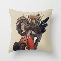 Congratulations, you caught the bouquet.... Throw Pillow