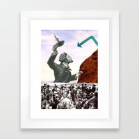 Where The Search Always Leads Framed Art Print