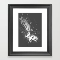 Stereo Type Framed Art Print