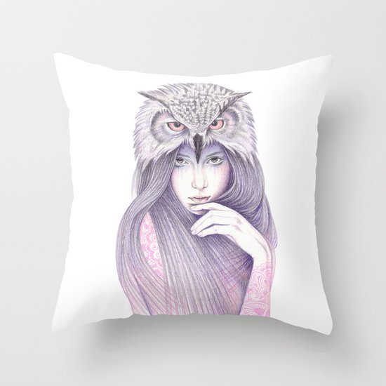 The Wisdom Throw Pillow
