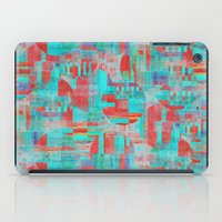 Sizzle circle work iPad Case