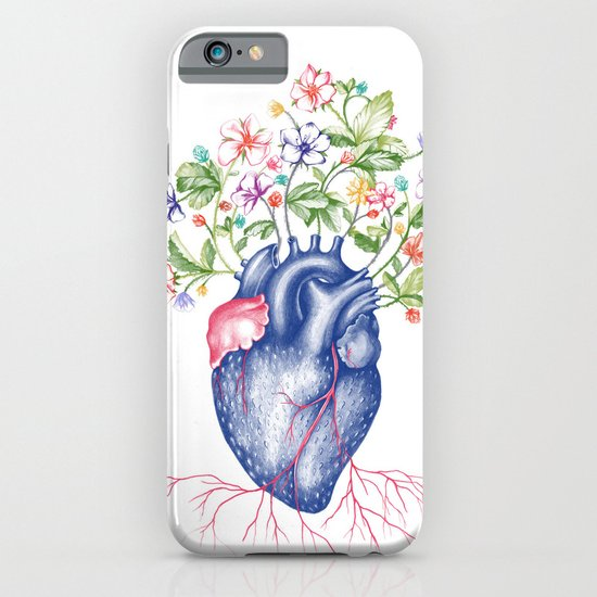 Strawberry Heart  iPhone & iPod Case