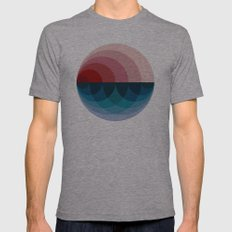 #751 Mens Fitted Tee Athletic Grey SMALL