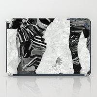 Abstract Zebra Grazing iPad Case