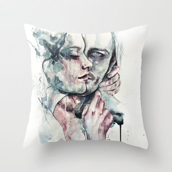 forever yours freckles Throw Pillow