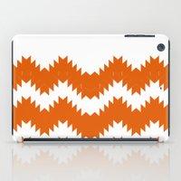 Orange pattern iPad Case