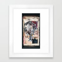 Trumpet song Framed Art Print