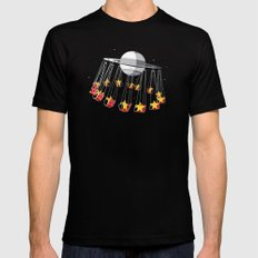 Chairoplanet SMALL Mens Fitted Tee Black