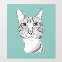 Tabbycat Canvas Print
