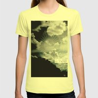 yes he was Womens Fitted Tee Lemon SMALL