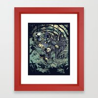 Welcome to the jungle. Framed Art Print