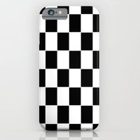 iPhone Cases featuring Checkerboard pattern by Laake-Photos