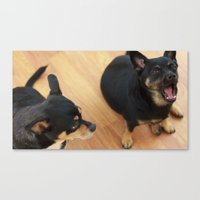 Charlie and Lucie Canvas Print