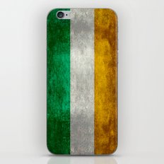 National flag of the Republic of Ireland - Vintage Version iPhone & iPod Skin