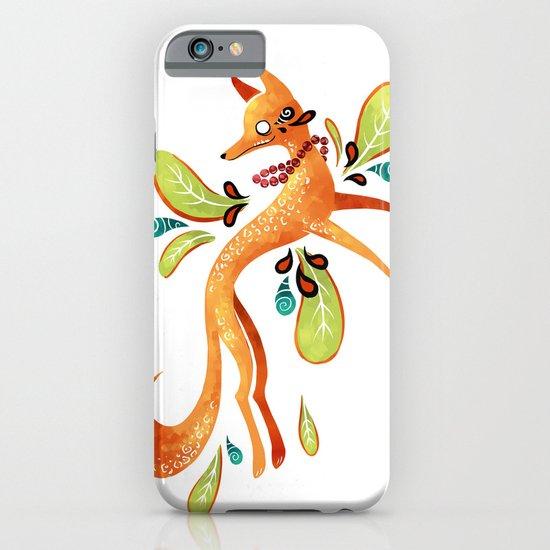 Autumn Fox iPhone & iPod Case