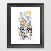 psykéwoman Framed Art Print