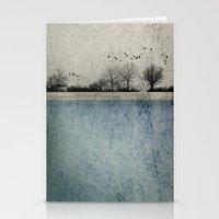 Winter Landscape - Susan… Stationery Cards