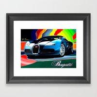 Bugatti Framed Art Print