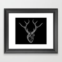 immortal heart Framed Art Print