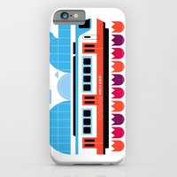 Postcards from Amsterdam / Train and Tulips iPhone 6 Slim Case