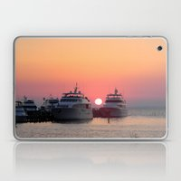 Even The Sun Sets In Par… Laptop & iPad Skin
