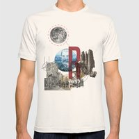 The Great Purge  Mens Fitted Tee Natural SMALL