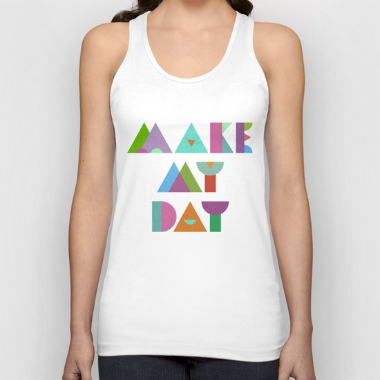Make My Day. Unisex Tank Top