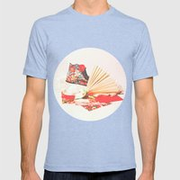 Marie Antoinette II Mens Fitted Tee Tri-Blue SMALL