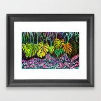 Garden Of Eden Framed Art Print