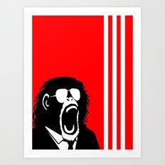 Ape Einstein   Art Print