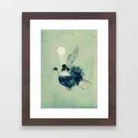 Fairy Calypso Framed Art Print