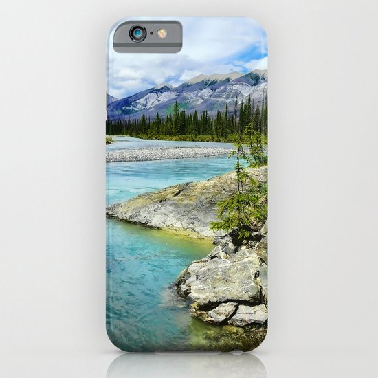 turquoise river iPhone & iPod Case