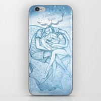 Happy Valentine's Night iPhone & iPod Skin