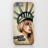 New York Woman iPhone 6 Slim Case