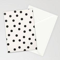 vintage dots 1 Stationery Cards