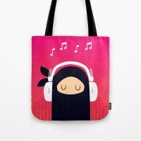 Music Ninja Tote Bag