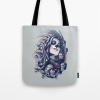 Coyolxauhqui Tote Bag