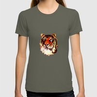 Rajah Womens Fitted Tee Lieutenant SMALL