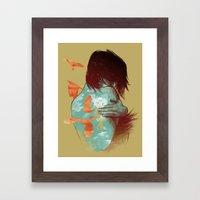 See It Through Framed Art Print