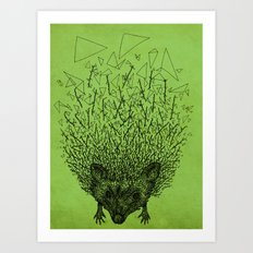 Thorny hedgehog Art Print