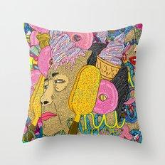 MAMAO Throw Pillow